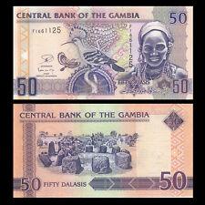 Gambia 50 Dalasis, 2013, P-28c, Unc
