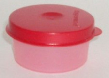 Tupperware Smidget Container Mayo, Salad Dressing, Beads Red & Pink New