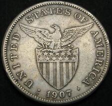PHILIPPINES 1 Peso 1907S - Silver - VF - 2291 ¤