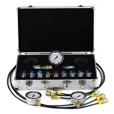 Excavator Hydraulic Pressure Test Kit,Hydraulic gauge,test 11 couplings 9000PSI