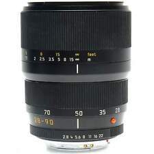 Leica 28-90mm f2.8-4.5 Vario-Elmarit-R Asph Zoom Lens (Black) with Case