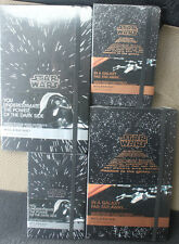 Moleskine Star Wars Limited Edition Plain Ruled Pocket Large Notebook Collection