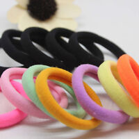 20PCS Girl Candy Elastic Hair Ties Band Rope Ponytail Bracelet Rubber String AU