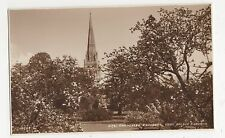 Chichester Cathedral from Palace Gardens, Judges 21781 Postcard, A940