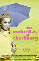 The umbrellas of Cherbourg vintage movie poster print