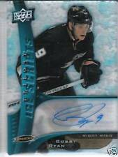 BOBBY RYAN 2009-10 UD ICE SCRIPTS CERTIFIED AUTOGRAPH