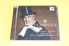 "CD PLACIDO DOMINGO ""VERDI"" 18 AIRS, PABLO HERAS-CASADO / SONY, 2013 -  NEUF"