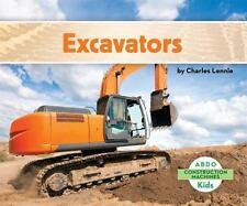 Excavators (Abdo Kids: Construction Machines)-ExLibrary