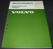 Werkstatthandbuch Volvo 340 Motor D16 / D 16 Stand Februar 1985