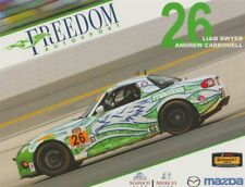 2017 Freedom Autosport #26 Mazda MX-5 Miata ST IMSA CTSC postcard