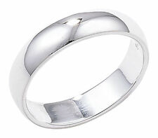 Unbranded Band Sterling Silver Fine Rings