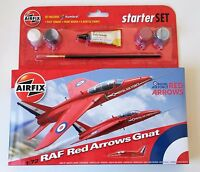 NEW AIRFIX 1:72 SCALE RAF RED ARROWS GNAT MODEL KIT A55105