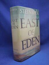 EAST OF EDEN John Steinbeck 1st Edition First Print 1952 facsimile dust jacket
