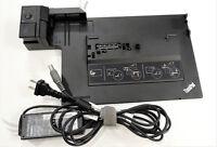 Lenovo Thinkpad Mini Docking Station Series 3 - Type 4337 - w/ Charger and Keys!