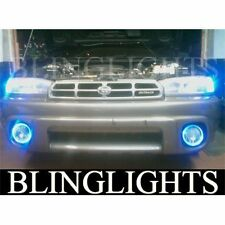 95 96 97 98 1999 Subaru Outback Halo Fog Lamp Blue Angel Eye Driving Lights Kit