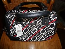 DANA BUCHMAN ROSIE SATCHEL PURSE BLACK RED WHITE GREY NEW
