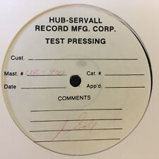 """MR.X AND MR.Z DRINK OLD GOLD 12"""" REISSUE TEST PRESSING EX"""