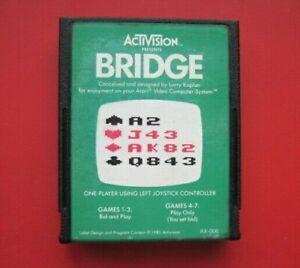 Bridge Atari 2600 Game *Cleaned & Tested*