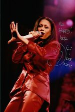 Dina Carroll Hand Signed 12x8 Photo Autograph, The Perfect Year, So Close