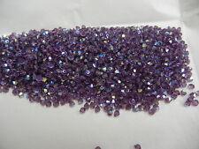 360 swarovski crystal beads,3mm lilac AB #5301