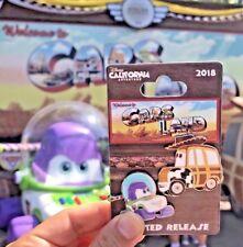 Disney Parks DCA Pixar Fest 2018 Cars Land Toy Story Woody Buzz Car LR Pin
