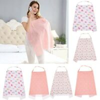 1PC Breastfeeding Cover Baby Infant Breathable Cotton Muslin Nursing Cloth Apron