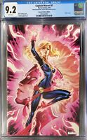 CAPTAIN MARVEL 7 GLOW IN THE DARK SDCC 2019 9.2 CGC  J SCOTT CAMPBELL