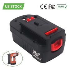 18V 3.0Ah Battery for Black & Decker 18 VOLT HPB18 HPB18-OPE FS18BX 244760-00