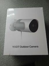 Yi IOT Cámara al aire libre 1080p seguridad de visión nocturna Impermeable IP