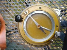 Russian Wwii Artillery Military Compass Or Aiming Circle 1939 with leather case