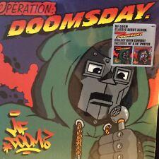 "MF DOOM "" OPERATION DOOMSDAY "" SEALED U.S. LP VINYL NEW + 18"" X 24"" POSTER"