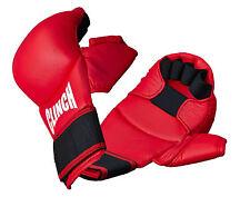 ABVERKAUF: Karate-Handschuhe, Karate-Handschutz, Kumite Glove rot C258-r