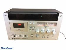 Akai Gxc-570D Wood Grain 3-Head Single Compact Stereo Cassette Deck As-Is
