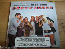 """THE ROUNDERS - GOOD TIME PARTY SONGS - 12"""" LP - STEREO GOLD AWARD - MER 339"""