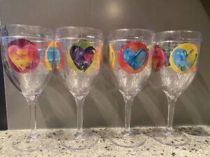 Tervis Set of 4 Wine Glasses