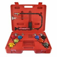 Radiator Pressure Tester Temperature Kit Cooling System Test Detector With Gau