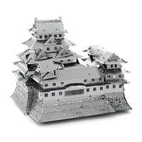 Fascinations Metal Earth Himejijo Himeji Castle 3D Laser Cut Steel DIY Model Kit