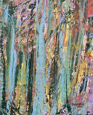 Modern ABSTRACT Original Art PAINTING Artist DAN BYL Contemporary Huge 4x5ft