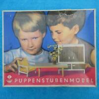 VERO PUPPENSTUBENMÖBEL - NUR LEERE VERPACKUNG - DDR - OVP