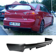 08-15 MITSUBISHI LANCER REAR BUMPER LIP SPOILER BODY KIT POLY