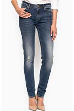 New Original Authentic LEE Womens Slim Skinny Jeans Blue Denim L30KDXXQ W26 L31