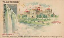 Antique ADVERT POSTCARD c1907 Shredded Wheat Factory NIAGARA FALLS, NY 19775