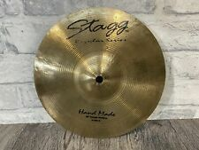 """More details for stagg regular series r-sm-10 splash cymbal 10"""" drum accessory"""