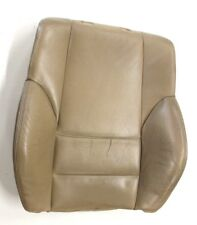 BMW OEM E46 LEFT OR RIGHT FRONT SPORT SEAT BACK REST UPPER CUSHION BEIGE LEATHER