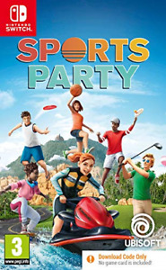 Sports Party Code in Box Nintendo Switch