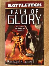 Battletech Path Of Glory Randall Bills 1st 2000 Great Cover Art L@K Wow!