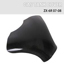 Carbon Fiber Fuel Gas Tank Cover Protector for Kawasaki ZX-6R ZX6R 2007-2008