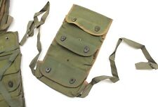 GENUINE FRENCH ARMY GRENADE / AMMO TRIO BELT POUCH