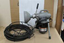 Ridgid-Kollmann K-50 Pipe Drain Snake Cleaner & Wire Spool