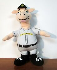 New Hampshire Fisher Cats Rah-lee Llama Mascot Plush Doll Market Identity Rare